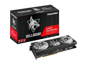 PowerColor Hellhound AMD Radeon RX 6700 XT Gaming Graphics Card with 12GB GDDR6 Memory, Powered by AMD RDNA 2, Raytracing, PCI Express 4.0, HDMI 2.1, AMD Infinity Cache