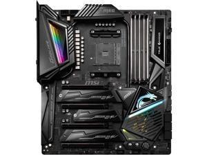 MSI MEG X570 GODLIKE Gaming Motherboard AMD AM4 SATA 6Gb/s M.2 USB 3.2 Wi-Fi 6 Extended-ATX