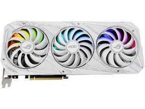 ASUS ROG Strix GeForce RTX 3080 10GB GDDR6X PCI Express 4.0 x16 Video Card ROG-STRIX-RTX3080-O10G-GUNDAM,WHITE GPU,WHITE Graphics Card