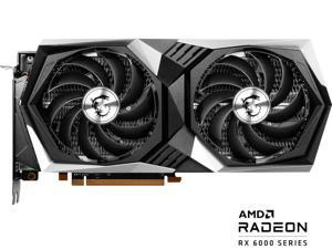 MSI Gaming Radeon RX 6600 XT 8GB GDDR6 PCI Express 4.0 ATX Video Card RX 6600 XT GAMING X 8G
