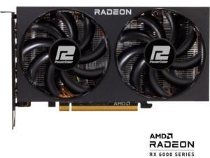PowerColor Fighter Radeon RX 6600 XT 8GB GDDR6 PCI Express 4.0 ATX Video Card 6600XT 8GBD6-3DH