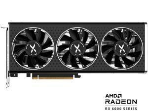 XFX SPEEDSTER MERC308 Radeon RX 6600 XT 8GB GDDR6 PCI Express 4.0 BLACK Gaming Graphics Card, AMD RDNA 2 RX-66XT8TBDQ