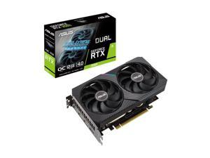 ASUS DUAL GeForce RTX 3060 OC Edition Gaming Graphics Card (PCIe 4.0, 12GB GDDR6 Memory, HDMI 2.1, DisplayPort 1.4a, 2-slot Design, Axial-tech Fan Design, 0dB Technology), DUAL-RTX3060-O12G-V2