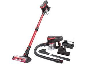 MOOSOO K17 Cordless Vacuum Cleaner 4 in 1 23KPA Powerful Suction Stick Vacuum for Hard Floor Carpet Pet Hair