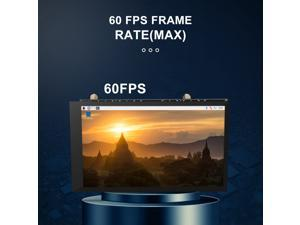 Raspberry pie 4-inch display HDMI adapter HD IPS display 800 * 480 supports 4B / 3B + / 3B