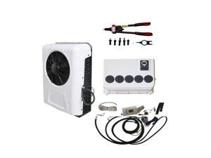 12V Electric Air Conditioner for Trucks Tractor Split Air Conditioner 6600BTU with Pull Riveter tool