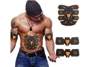 DOTSOG Abs Trainer | Muscle Toner | EMS Abs Toner | Ultimate Muscle Trainer for Men Women | Portable Workout Belt for Abdomen/Arm/Leg Training Home Office Exercise