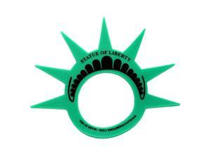 Fun Statue of Liberty Costume Hat Crown Visor (MADE in USA) for Costumes and New York City Theme Parties