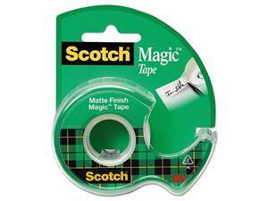 Scotch 105 Magic Tape with Dispenser, 3/4-Inch x 300-Inch , 1/RL,Clear