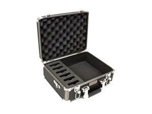 """Williams Sound CCS 029 DW Small Digi-Wave System Briefcase (6 Slot), Storage holds 6 DLTs or DLRs, Includes detatchable shoulder strap, Dimensions 14"""" x 11"""" x 8"""", Weight 4.0 lbs."""