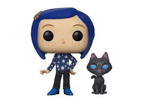 Funko 32811 Pop Movies Coraline with Cat Buddy Collectible Figure, Multicolor, Standard