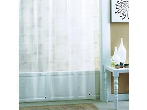 Ex-Cell PEVA Eco Friendly Shower Curtain Liner, 70 by 71-Inch, Frosty