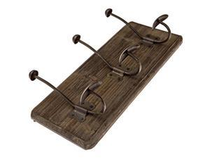 Avignon Rustic Coat Hook Vintage Coat Rack Towel Rack 16 inches wide and 7 inches high (Pack of 2)