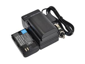 2X Battery+Charger for LP-E6 LPE6 LP-E6N LPE6N EOS 5D 6D 7D Mark II III 60D 60Da 70D 80D 5Ds 5DS R XC10 XC15 Camera