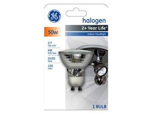 GE 16751-5 50-Watt Edison Halogen Floodlight GU10 Light Bulb, 5-Pack