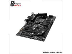 AMD Ryzen 5 3600 R5 3600 CPU + MSI X470 GAMING PLUS MAX Motherboard Suit Socket AM4 All new but without cooler