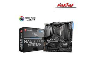 MSI MAG Z390M MORTAR Micro-ATX Intel Z390 M.2 DDR4 SATA USB 3.1 New 128G Double Channel Support 8 9 Gen 1151 CPU Motherboard