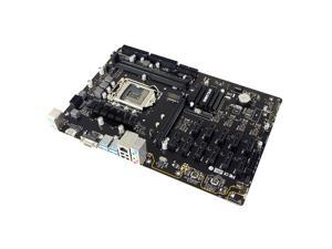 BIOSTARTB Main Board For BTC Stable 360-BTC PRO 12 PCIe Card Slot Industrial Control Motherboard
