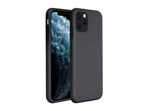 Compatible for iPhone 11 Pro Case, Cover 5.8 Inch (2019) Full Body Silicone Gel Rubber Protective Shockproof Case with Soft Anti-Scratch Microfiber Lining