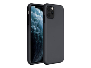 Compatible for iPhone 11 Pro Max Case, Cover 6.5 Inch (2019) Full Body Silicone Gel Rubber Protective Shockproof Case with Soft Anti-Scratch Microfiber Lining