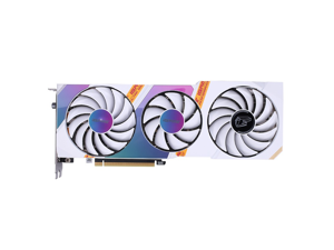 Colorful iGame GeForce RTX 3070 Ultra W OC 8G 1725-1770Mhz GDDR6 256bit Video Gaming Computer Graphics Card Support DirectX 12 Ultimate/OpenGL4.6, Display Ports HDMI/DP (White)