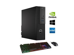 Dell OptiPlex 3420 SFF Computer Desktop i5 6500 3.2Ghz 32GB DDR4 RAM 1TB SSD NVIDIA GeForce GT 1030 2GB Win 10 Pro WIFI with Gaming PC Keyboard & Mouse HAJAAN HC510 HDMI
