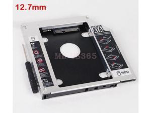 2Nd Sata Hard Drive Caddy Adapter For Lenovo Ideapad G580 G585 G770 Optical Bay