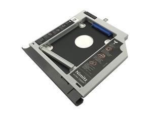 2nd HDD SSD Hard Drive Caddy Compatible with Lenovo Ideapad 320 520 330 with Gray Bezel/Bracket