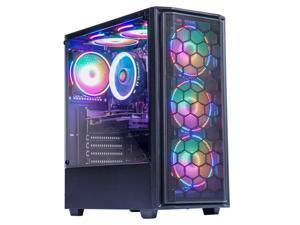MXZ Desktop Home& Office PC Computer AMD Ryzen 5 3600 3.6GHz, GT 1030 2GB, GIGABYTE A320 S2H,  Corsair 8GB DDR4 3200MHz, ADATA NVME 256G SSD, 6 RGB Fans, WiFi & Win 10 Pro, Ready to use