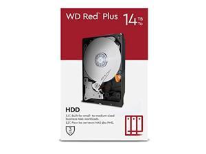 "wd red plus 14tb nas 3.5"" internal hard drive - 5400 rpm class, sata 6 gb/s, cmr, 512mb cache"