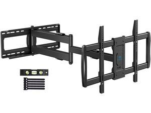 Full Motion TV Wall Mount for 37-75 inch Flat Screen or Curved TVs with 42.5 inch Articulating Extension Arm, TV Bracket Swivel and Tilt, Max VESA 600x400mm, Holds up to 132lbs