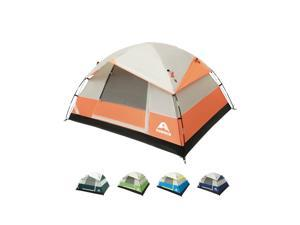 Camping Tent 2 Person - Family Dome Waterproof Backpack Tents with Top Rainfly, Ultralight Easy Set Up Small Tents with Carry Bag for 4 Season Hiking Glamping Beach Outdoor