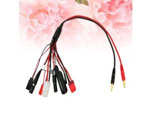 Multifunctional 8 In 1 Lipo Battery Multi Charging Plug Convert Cable Line for B6 Charger RC Part Battery Charger Line