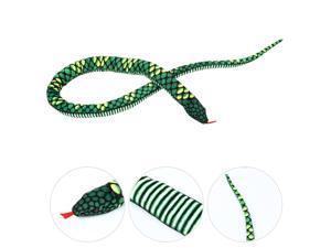 Lovely Simulation Snake Plush Toys Giant Snake Stuffed Dolls Children's Toy