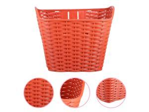1Pc Plastic Durable Bike Front Carrier Bike Accessory Bike Front Container Bike Basket