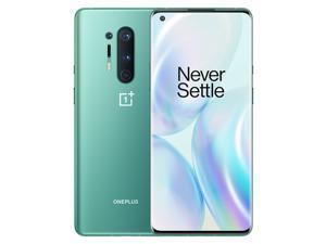 OnePlus 8 Pro IN2020 256GB Dual SIM 6.78 in Fluid AMOLED QHD+ Capacitive Display GSM Only 12GB RAM Quad Camera - Snapdragon 865 - Smartphone - International Version - Glacial Green
