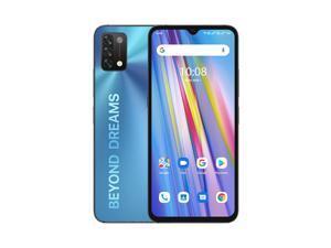 "UMIDIGI A11 Global Version Android 11 Helio G25 5150mAh 3GB 64GB 16MP AI Triple Camera 6.53"" HD+ Smartphone - Mist Blue Other Area Version"