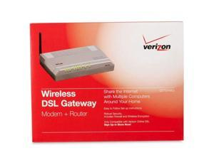 Actiontec GS583AD3-06 Verizon GT704WG Wireless DSL Gateway 54 Mbps Auto-fallback @ IEEE 802.11b/g  6 Mbps IEEE 802.11g  11 Mbps Auto-fallback @ IEEE 802.11b  1 Mbps IEEE 802.11b