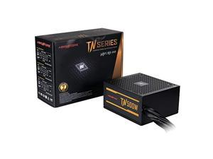 abkoncore tn500w bronze pc power supply 500w, 80+ bronze certified, 12v single rail, silent 135mm quiet cooling fan, eco friendly, active pfc, 7 years assurance psu for gaming and