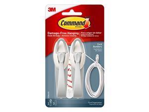 command cord bundlers, cord organizer, 2-bundlers (17304-es)