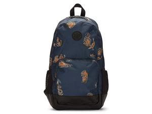 hurley men's renegade printed laptop backpack, blue force, qty