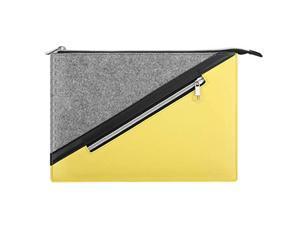 "moko 13.3 inch laptop sleeve, briefcase bag zipper pouch with pocket fits macbook pro 13"" 2012-2015, macbook air 13"" 2012-2017, ipad pro 12.9 2021/2020/2018, google pixel slate 12."