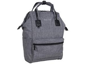 """kenneth cole reaction paddy shack 15"""" laptop & tablet book bag backpack for school, travel, & work, heathered gray, laptop"""