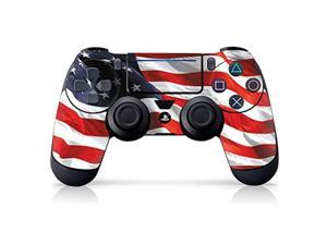 """controller gear authentic and officially licensed ps4 controller skin """"american flag waving"""" (playstation 4 controller sold separately) - playstation 4"""
