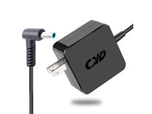 cyd 45w laptop power cord compatible for hp laptop charger series 854117-850 853605-001 pa-1650-63 15-j058ca 14-an013nr 15-ac151dx 15-ay012dx extra 8.2ft ac-power cable