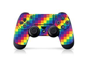 """controller gear authentic and officially licensed ps4 controller skin """"pride pixel"""" (playstation 4 controller sold separately) - playstation 4"""