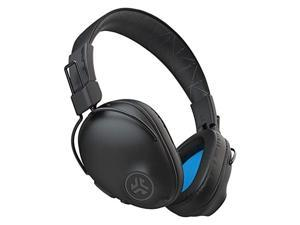 jlab studio pro bluetooth wireless over-ear headphones | 50+ hour bluetooth 5 playtime | eq3 sound | ultra-plush faux leather & cloud foam cushions | track and volume controls | bl