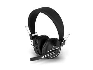 Aluratek - Wireless Stereo Headset with Boom Microphone and Bluetooth Dongle ...
