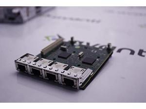 dell fm487 quad port gigabit 5720 daughter card poweredge r620 r720 r820