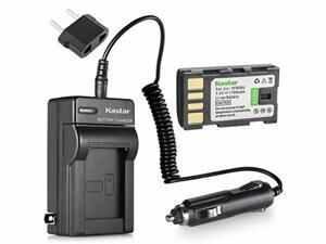 kastar battery and charger kit for jvc everio gz-mg330, gz-mg330au, gz-mg330ru, gz-mg330hu hd camcorder and jvc bn-vf808 bn-vf815 bn-vf823 battery